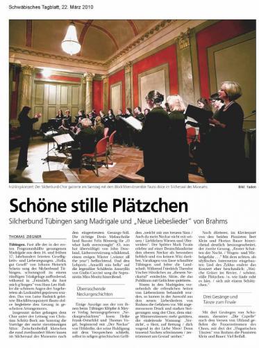 "Konzertkritik 2010 - ""ars musica"""